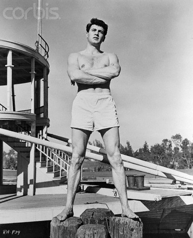George nader the rock hudson project for Hudson swimming pool timetable
