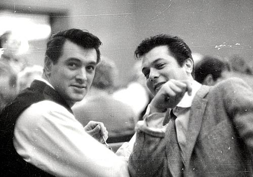 tony curtis young. With Tony Curtis